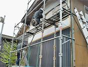 サイディング張り替え工事